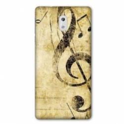 Coque Nokia 1 Plus Musique clé sol vintage