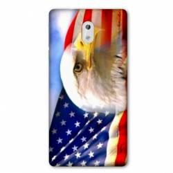 Coque Nokia 1 Plus Amerique USA Aigle