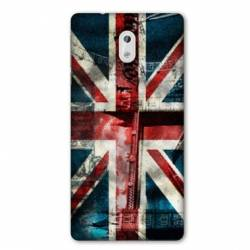 Coque Nokia 1 Plus Angleterre UK Jean's