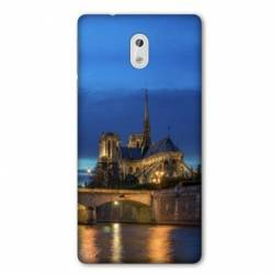 Coque Nokia 1 Plus France Notre Dame Paris night