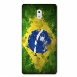 Coque Nokia 1 Plus Bresil texture