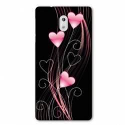 Coque Nokia 1 Plus Cœur rose Montant