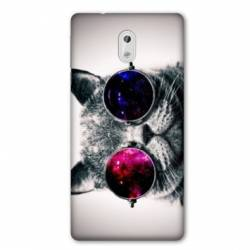 Coque Nokia 1 Plus Chat Fashion