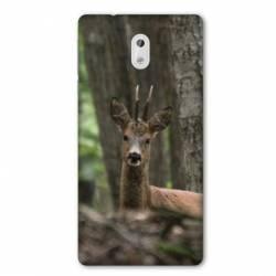 Coque Nokia 1 Plus chasse chevreuil Bois