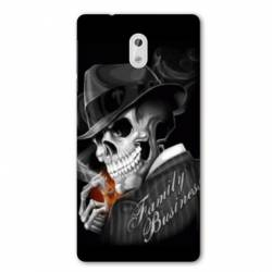 Coque Nokia 1 Plus tete de mort family business