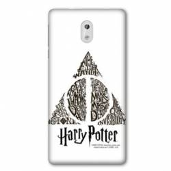 Coque Nokia 1 Plus WB License harry potter pattern triangle Blanc