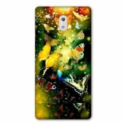 Coque Nokia 2.2 papillons papillon jaune