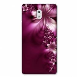 Coque Nokia 2.2 fleur violette montante