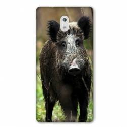 Coque Nokia 2.2 chasse sanglier bois