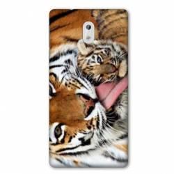Coque Nokia 3.2 bebe tigre