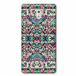 Coque Nokia 3.2 motifs Aztec azteque rose