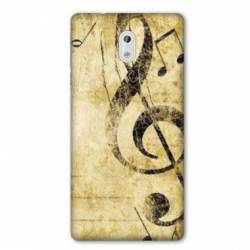 Coque Nokia 3.2 Musique clé sol vintage