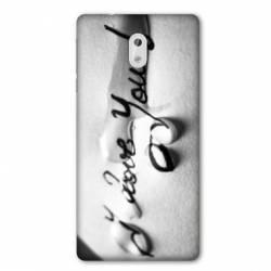 Coque Nokia 3.2 I love you larme B