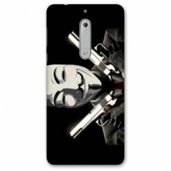 Coque Nokia 4.2 Anonymous Gun