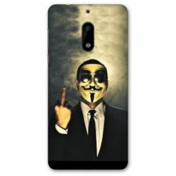 Coque Nokia 4.2 Anonymous doigt