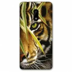 Coque Nokia 4.2 œil tigre