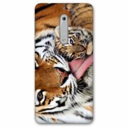 Coque Nokia 4.2 bebe tigre