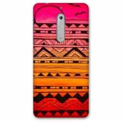 Coque Nokia 4.2 motifs Aztec azteque soleil