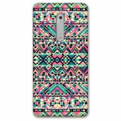 Coque Nokia 4.2 motifs Aztec azteque rose