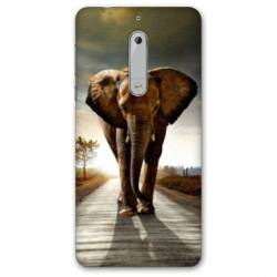 Coque Nokia 4.2 savane Elephant route