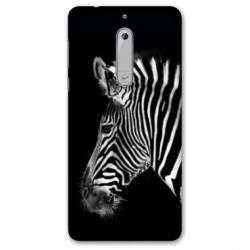 Coque Nokia 4.2 savane Zebra