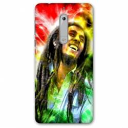 Coque Nokia 4.2 Bob Marley Color