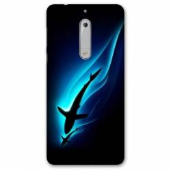 Coque Nokia 4.2 Requin Noir