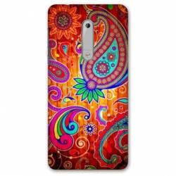 Coque Nokia 4.2 fleur psychedelic