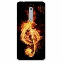 Coque Nokia 4.2 Musique clé sol feu N