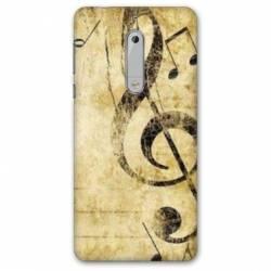 Coque Nokia 4.2 Musique clé sol vintage
