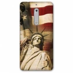 Coque Nokia 4.2 Amerique USA Statue liberté