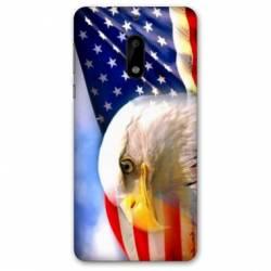 Coque Nokia 4.2 Amerique USA Aigle
