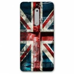 Coque Nokia 4.2 Angleterre UK Jean's