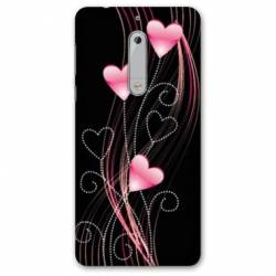 Coque Nokia 4.2 Cœur rose Montant