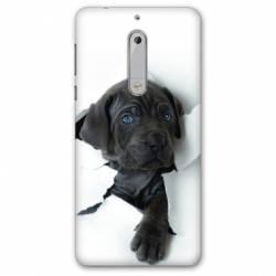 Coque Nokia 4.2 Chien noir