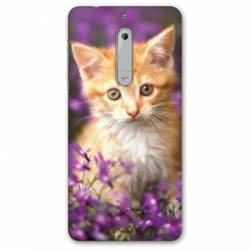 Coque Nokia 4.2 Chat Violet