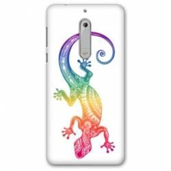 Coque Nokia 4.2 Animaux Maori Salamandre color