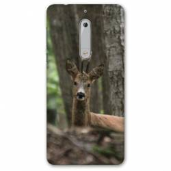 Coque Nokia 4.2 chasse chevreuil Bois