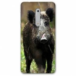 Coque Nokia 4.2 chasse sanglier bois