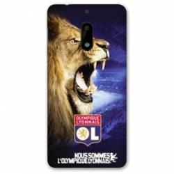 Coque Nokia 4.2 Licence Olympique Lyonnais - Rage de vaincre