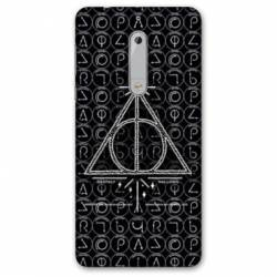 Coque Nokia 4.2 WB License harry potter pattern triangle noir
