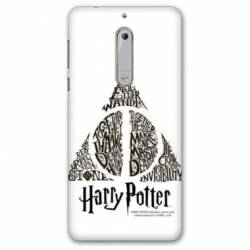 Coque Nokia 4.2 WB License harry potter pattern triangle Blanc