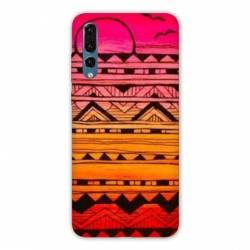 Coque Huawei  Honor 20 Pro motifs Aztec azteque soleil