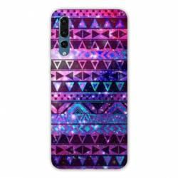 Coque Huawei  Honor 20 Pro motifs Aztec azteque violet