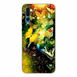 Coque Huawei  Honor 20 Pro papillons papillon jaune
