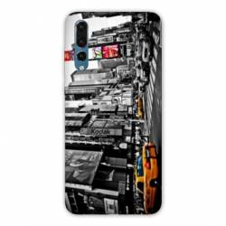 Coque Huawei  Honor 20 Pro Amerique USA New York Taxi