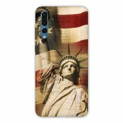 Coque Huawei  Honor 20 Pro Amerique USA Statue liberté