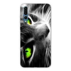 Coque Huawei  Honor 20 Pro Chat Vert