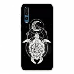 Coque Huawei  Honor 20 Pro Animaux Maori Tortue noir