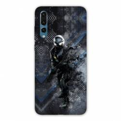 Coque Huawei  Honor 20 Pro police swat